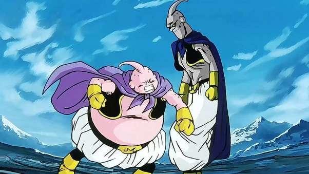 Evil Buu đã hấp thụ Fat Buu để trở thành Super Buu