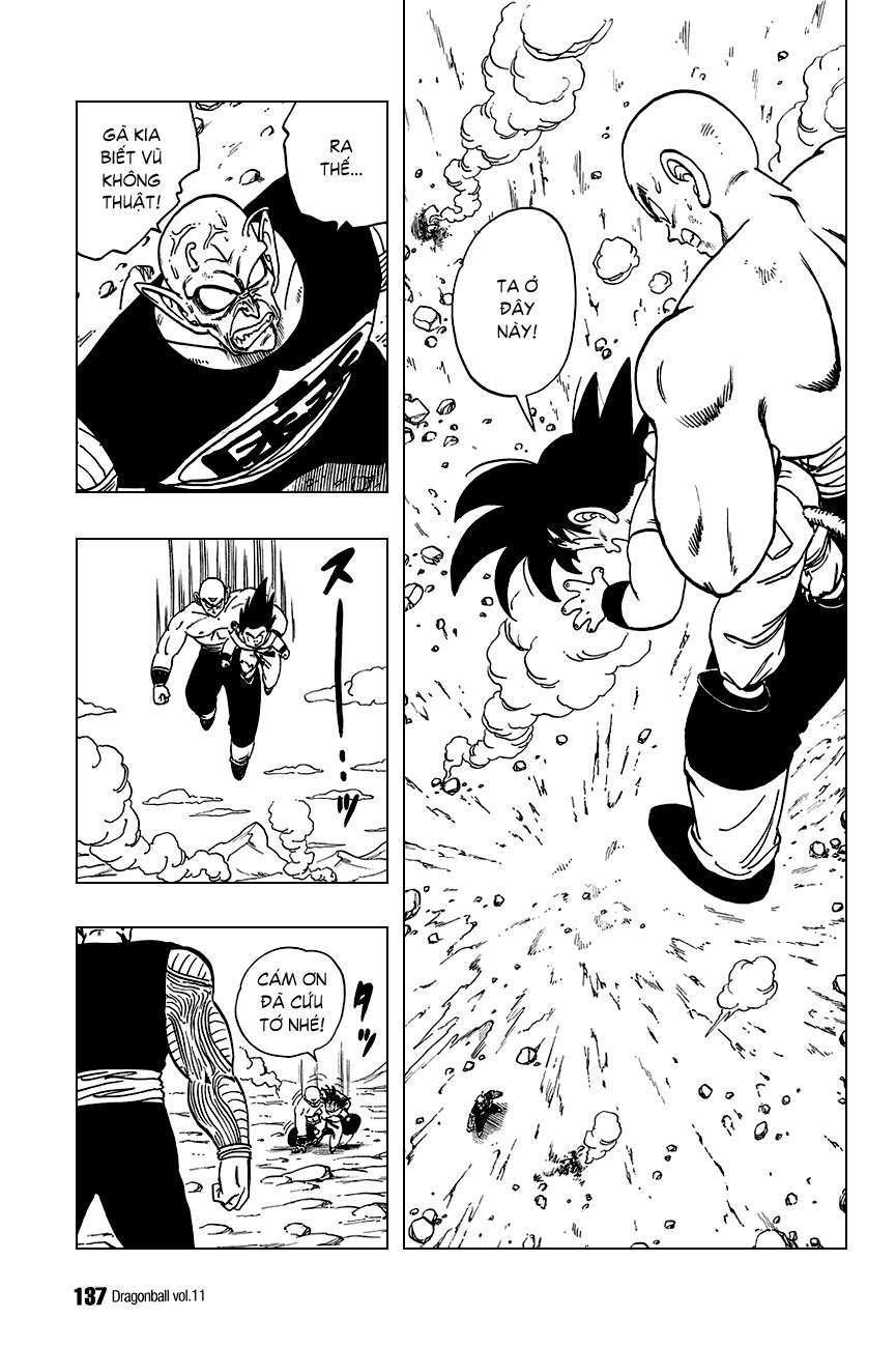 Tien Shinhan cứu Goku kịp thời