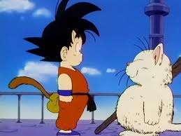 Goku lần đầu gặp thần mèo