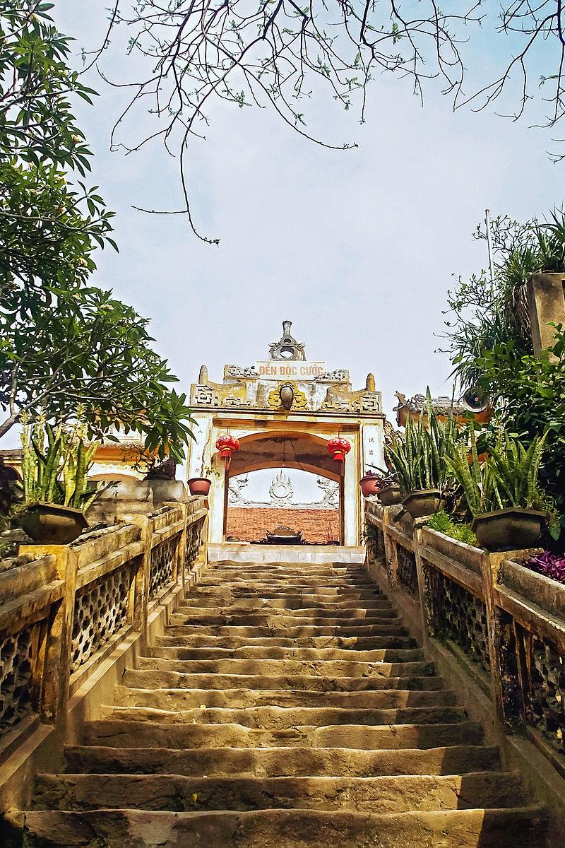 Huyền thoại Cao Sơn Độc Cước, thần Độc Cước hay sự tích đền Độc Cước