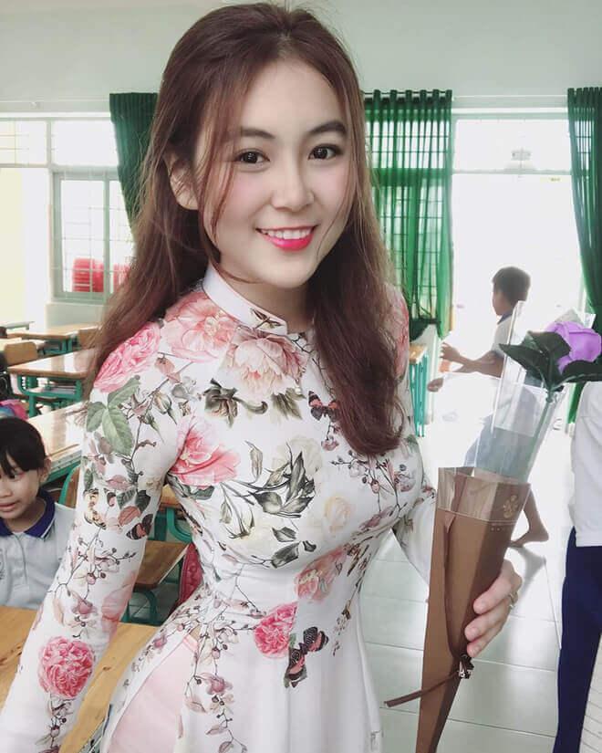 Cô giáo Nam Trân hiện đang là giáo viên tiểu học