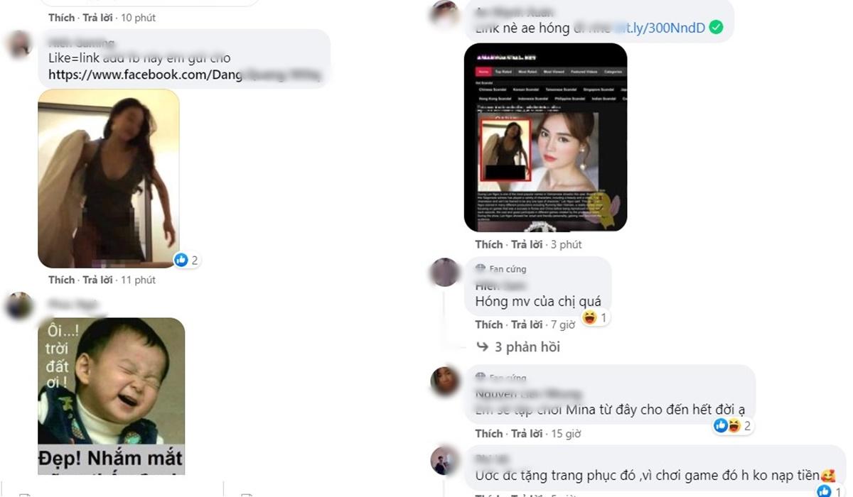 Cư dân mạng ráo riết săn link clip nóng của Ninh Dương Lan Ngọc