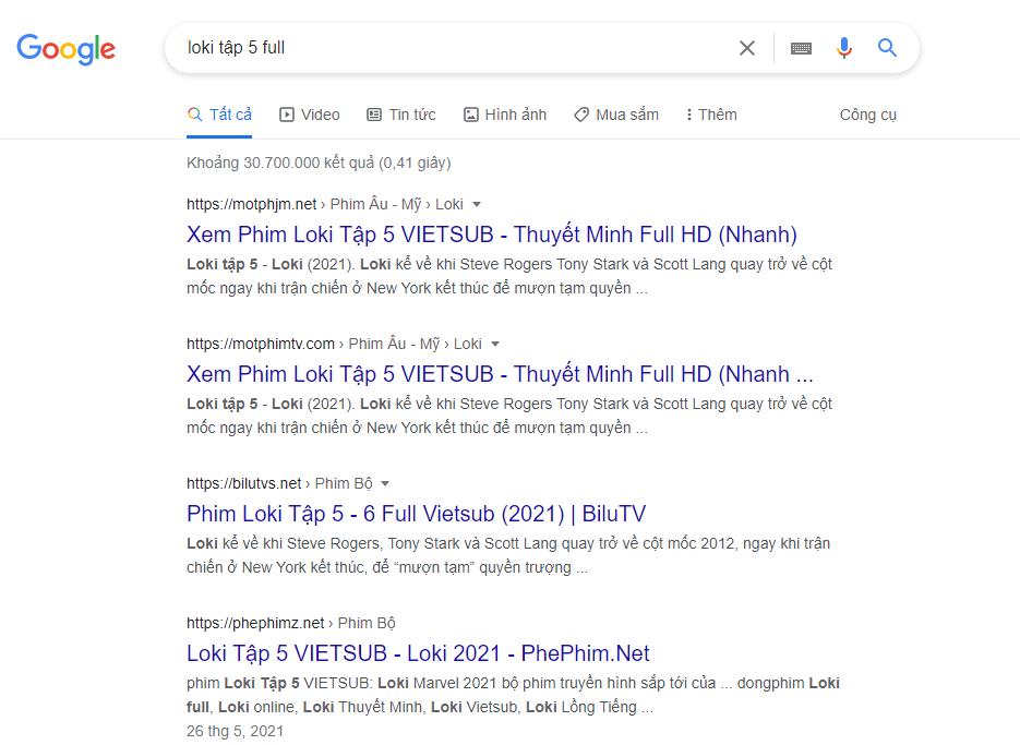 Lên Google gõ là ra ngay