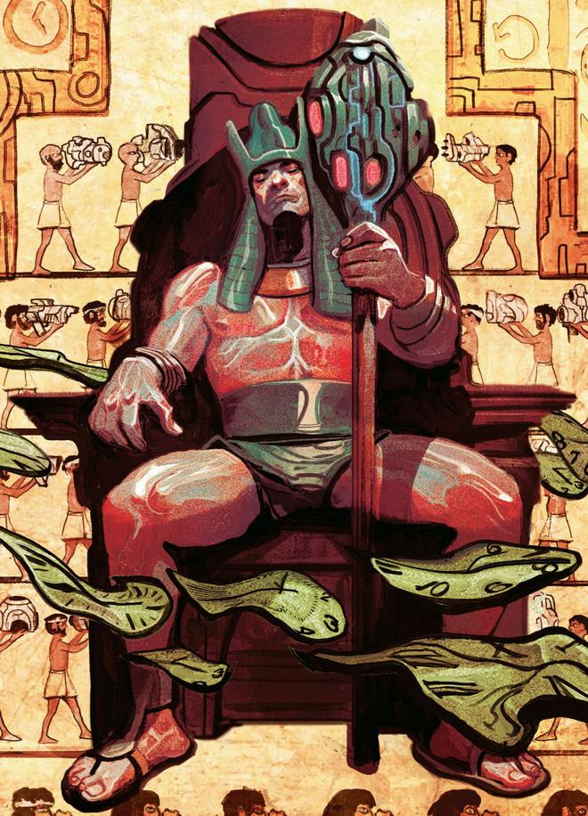 Kang The Conqueror trở về Ai Cập cổ đại và trở thành Pharaoh Rama-Tut