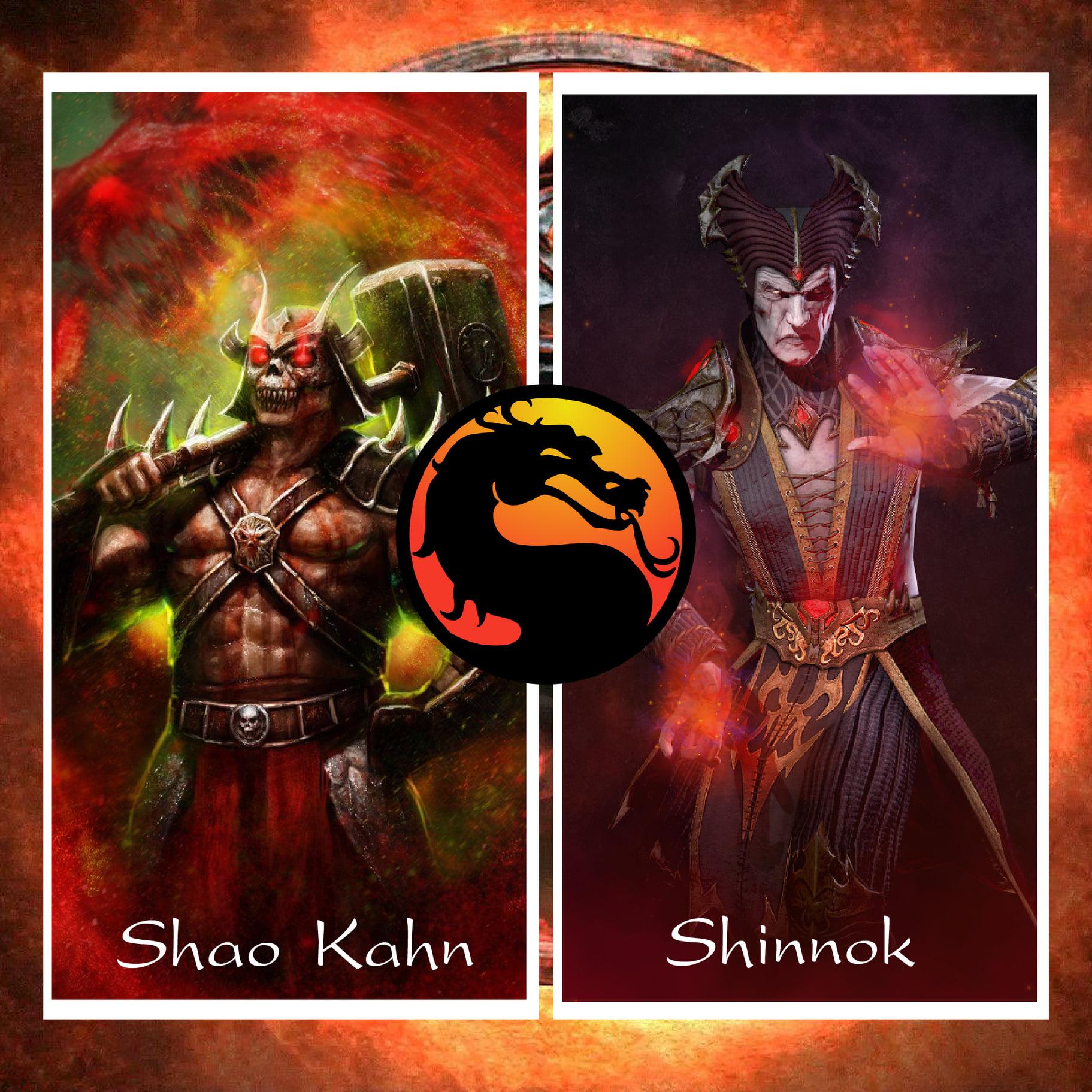 Shao Kahn vs Shinnok
