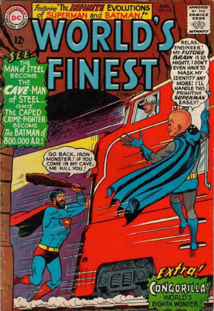 WORLD'S FINEST: THE INFINITE EVOLUTION OF BATMAN AND SUPERMAN