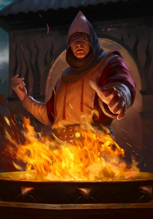 Ngọn lửa vĩnh hằng trong the Witcher