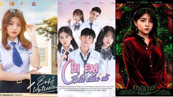 Reency Ngô đã tham gia nhiều bộ phim khác nhau để nâng cao năng lực diễn xuất