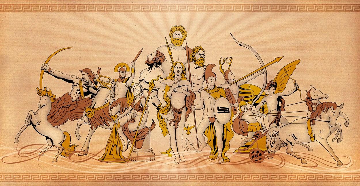 Phiên bản La Mã của các vị thần Hy Lạp