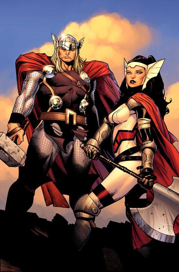 Cặp đôi Thor và Sif