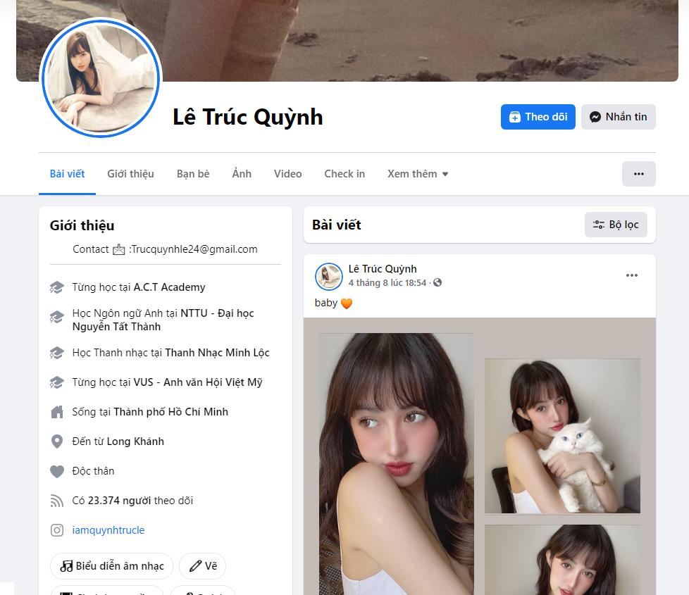Facebook của LTQ