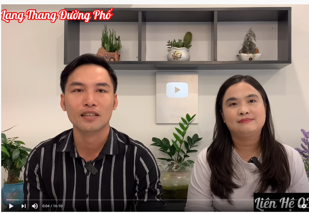 Quỳnh Như và Thanh Quyền của kênh Lang Thang Đường Phố